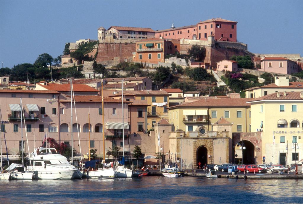 Italy, Tuscany, Elba Island, Portoferraio harbour : Stock Photo