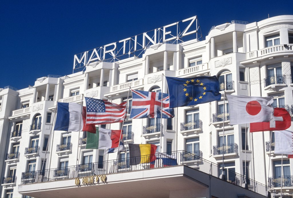 Stock Photo: 4292-117758 French Riviera, Cannes, Martinez Hotel