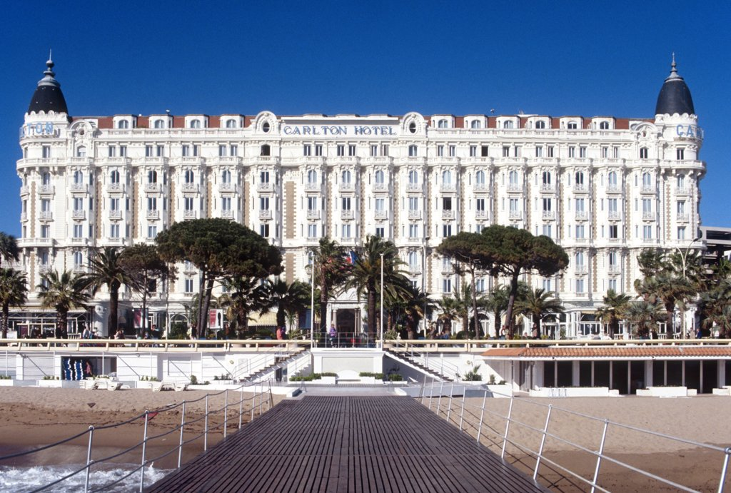 Stock Photo: 4292-117761 French Riviera, Cannes, hotel Carlton