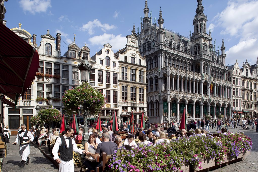 Stock Photo: 4292-118889 Belgium, Flanders, Brussels, Grand Place, Restaurant