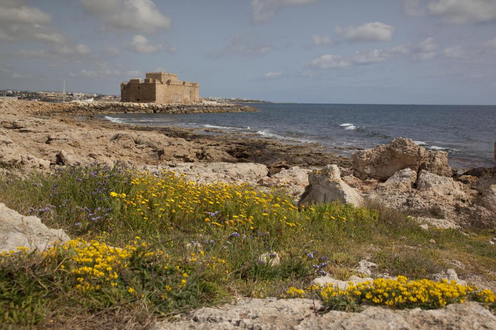 Stock Photo: 4292-118909 Cyprus, Kato Paphos, Castle