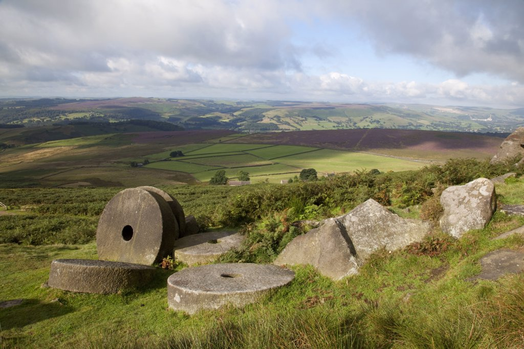 Stock Photo: 4292-119050 UK, England, Derbyshire, Hathersage Moor