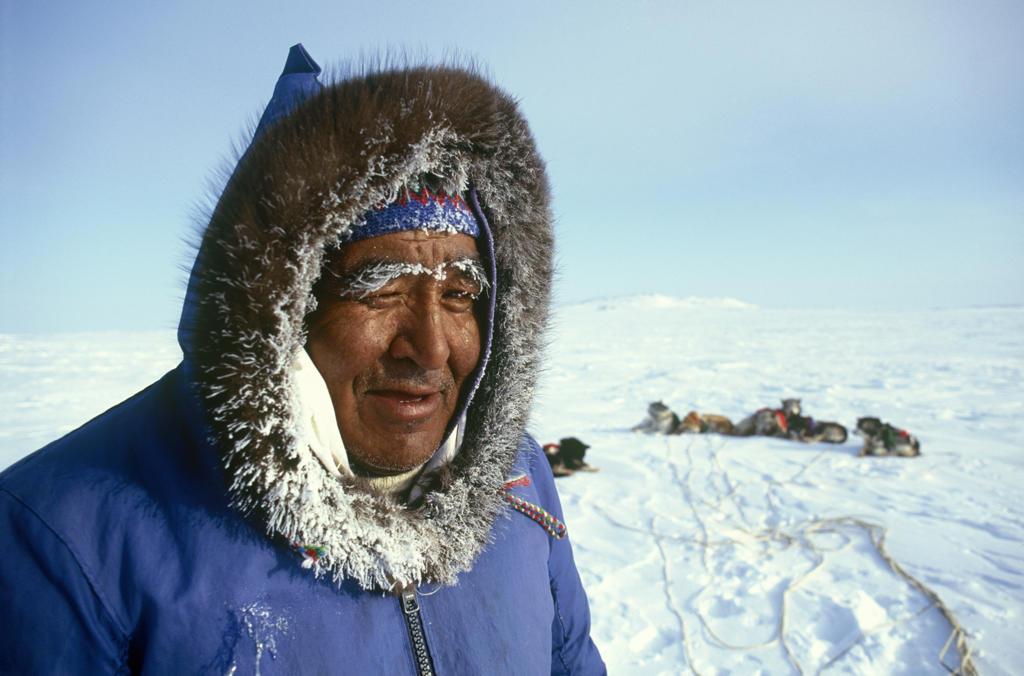 Canada, inuit portrait : Stock Photo