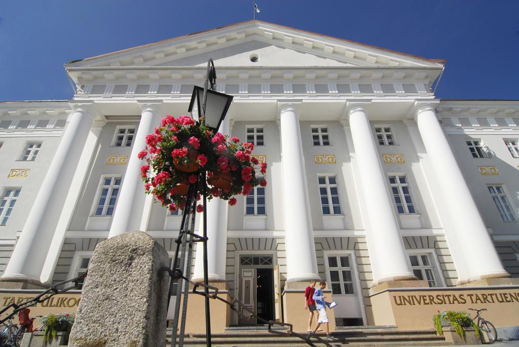 Stock Photo: 4292-120833 Estonia, Tartu, university