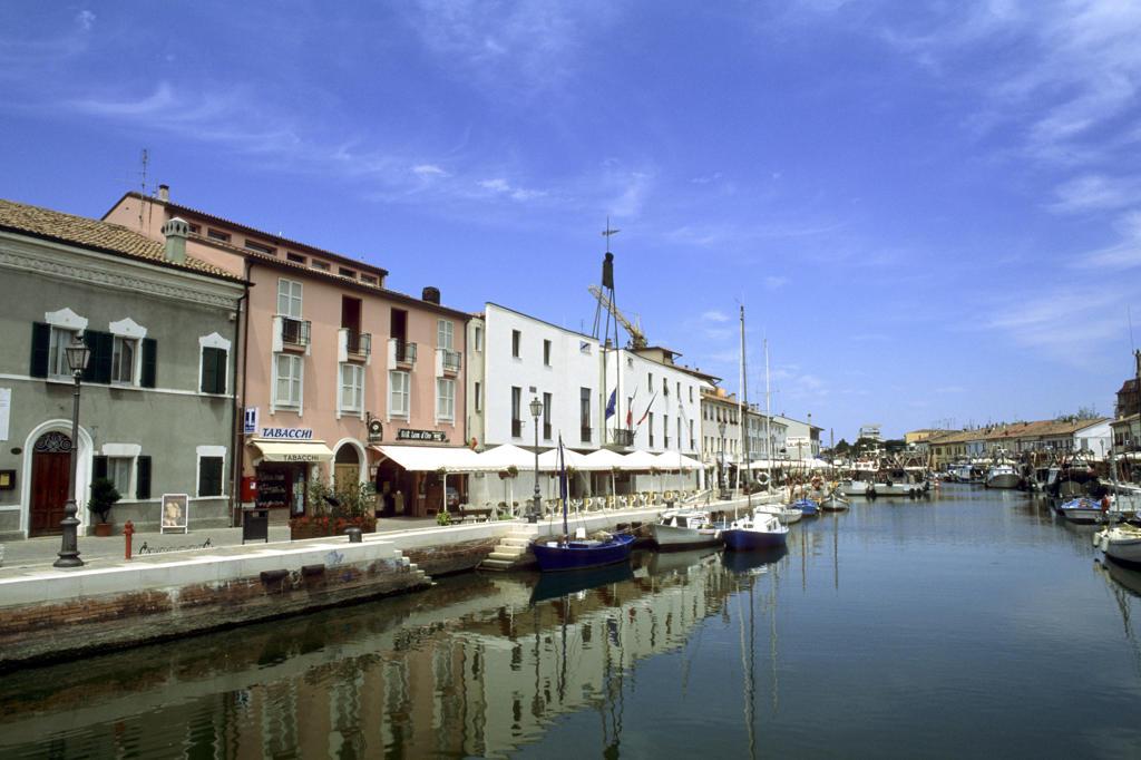 Italy, Emilia Romagna, Cesenatico : Stock Photo