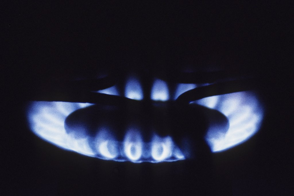 Stock Photo: 4292-123274 Gas stove
