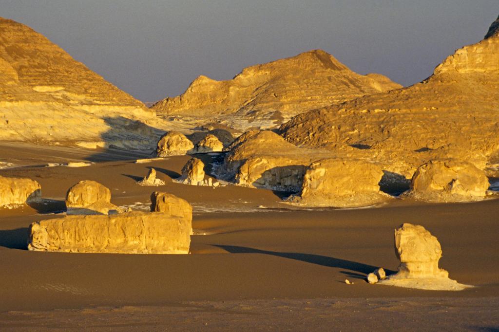 Stock Photo: 4292-123602 Africa, Egypt, Sahara desert, Gilf Kebir