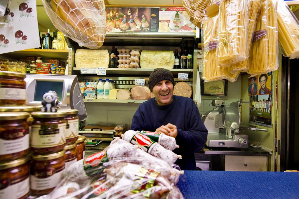 Stock Photo: 4292-124419 Italy, Liguria, Genova, the Oriental market