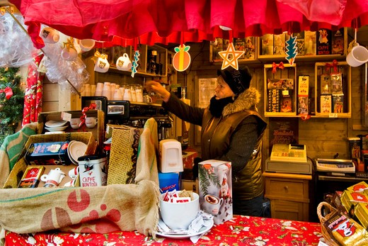 Stock Photo: 4292-124570 Italy, Trentino Alto Adige, Trento, the Christmas market
