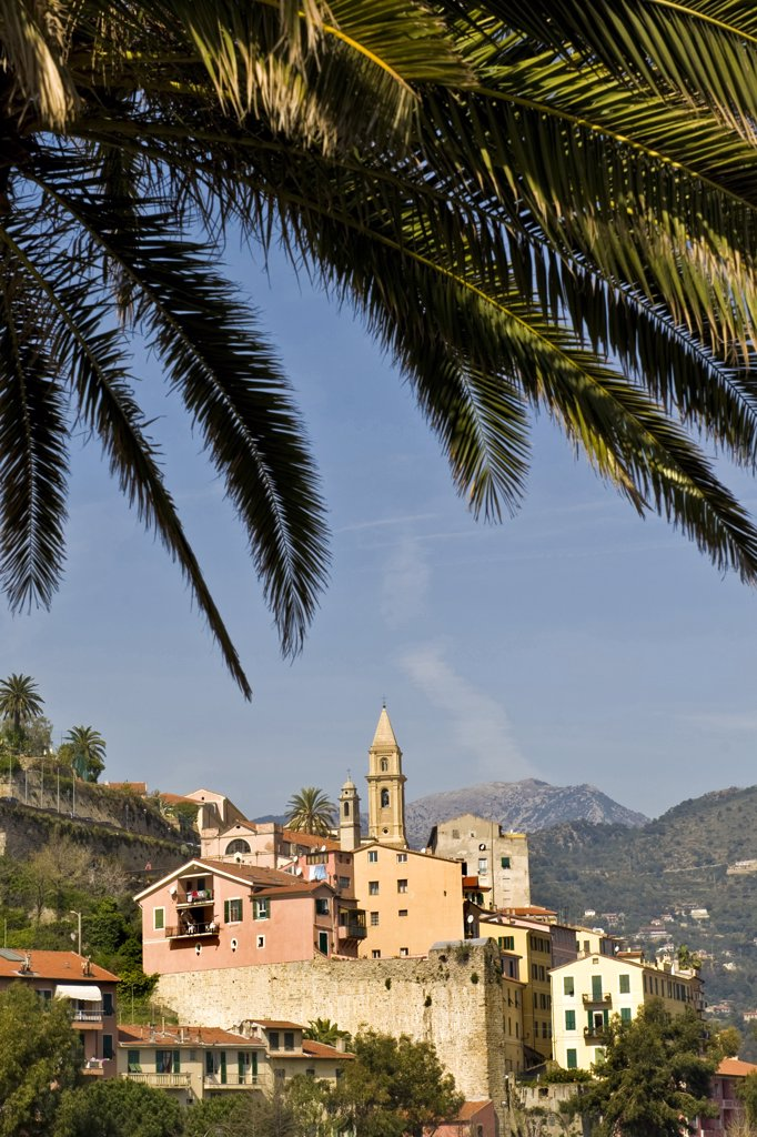 Italy, Liguria, Ventimiglia, Old Town : Stock Photo