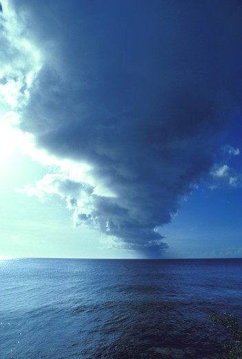 Stock Photo: 4292-12690 Waterspout on the sea