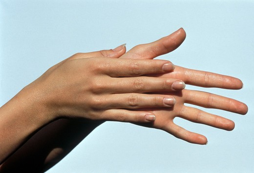 Stock Photo: 4292-12955 Close up of woman's hands