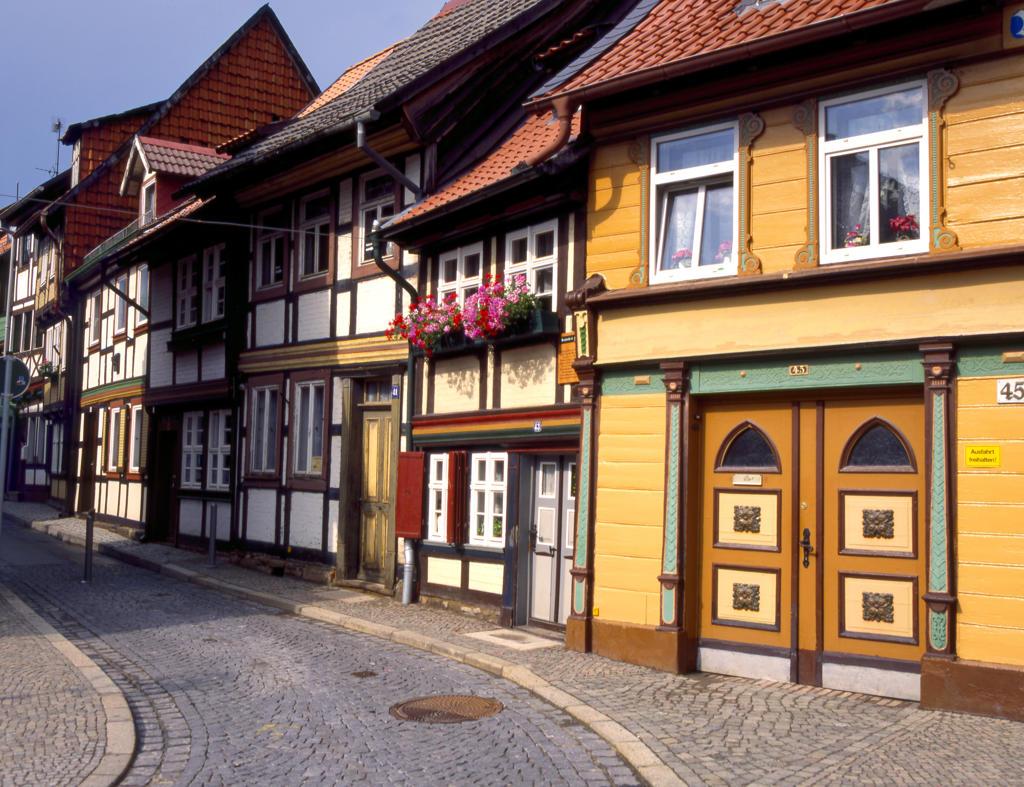 Stock Photo: 4292-130416 Deutschland,  Kleinstes Haus in Wernigerode