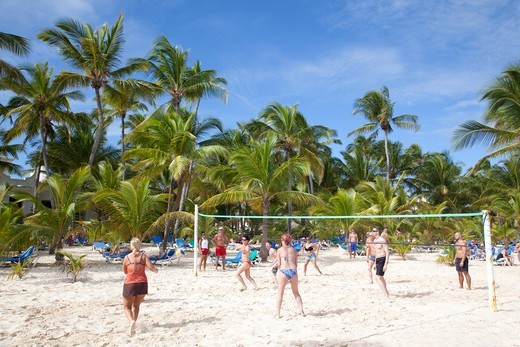 Stock Photo: 4292-141381 Dominican Republic, Punta Cana, Bavaro Beach