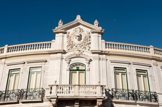 Stock Photo: 4292-142926 Europe, Portugal, Lisbon, Belem, building facade