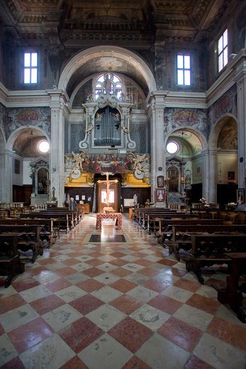 Italy, Veneto, Venice, San Martino church : Stock Photo