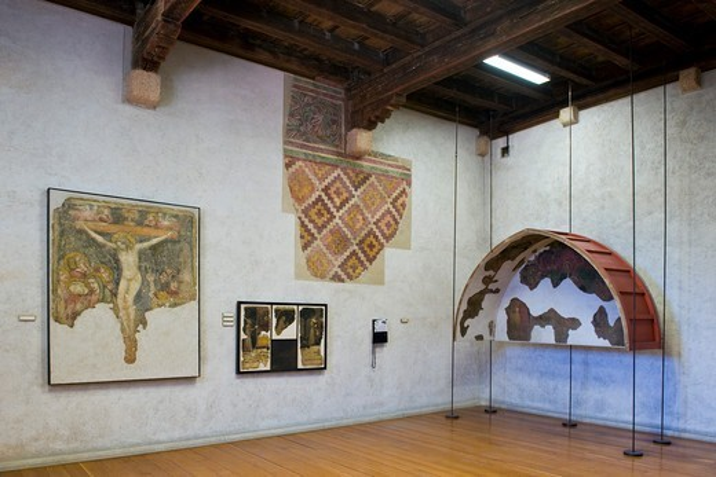Italy, Veneto, Verona, Castelvecchio museum : Stock Photo