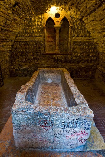 Stock Photo: 4292-145054 Italy, Veneto, Verona, Juliet's tomb