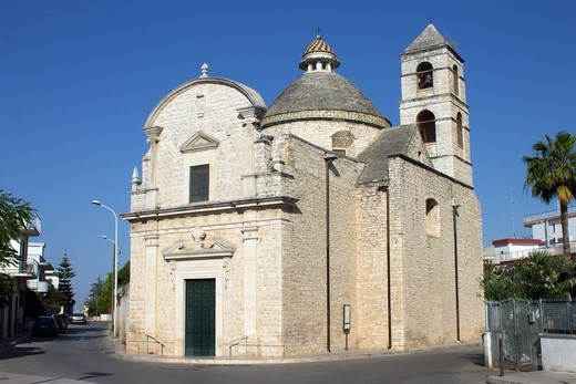 Stock Photo: 4292-145646 Italy, Apulia, Bitonto, the Crucifix church