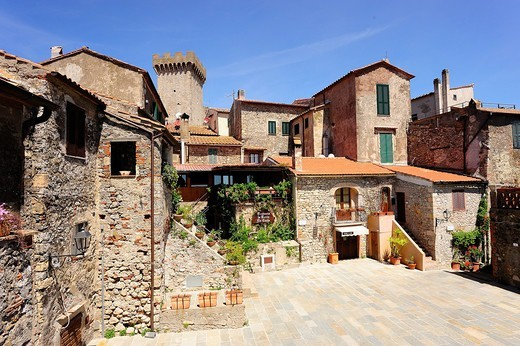 Stock Photo: 4292-152191 Italy, Tuscany, Capalbio