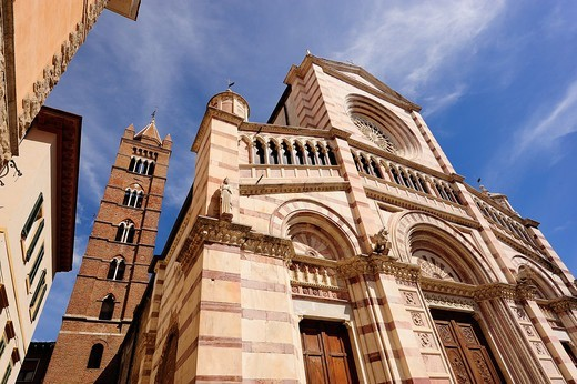 Italy, Tuscany, Grosseto, cathedral : Stock Photo