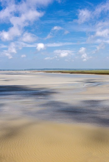 Stock Photo: 4292-153088 France, Normandy, the bay of Mont St Michel