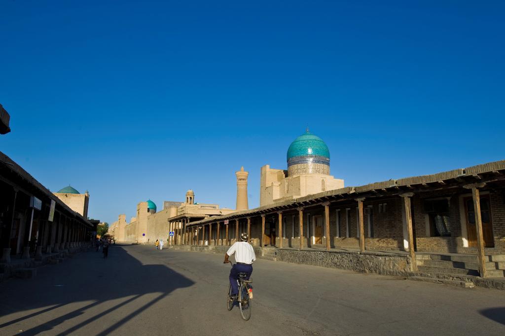 Uzbekistan, Bukhara, daily life : Stock Photo