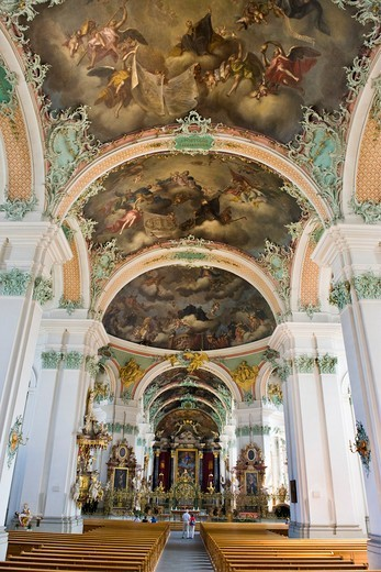 Stock Photo: 4292-154127 Switzerland, St. Gallen, St. Gallen Abbey