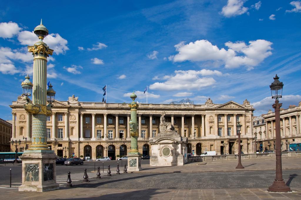 France, Ile de France, Paris, Concorde town square : Stock Photo