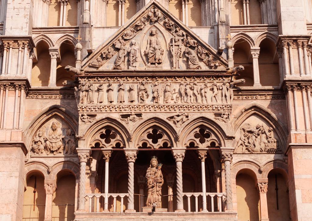 Italy, Emilia Romagna, Ferrara, Duomo : Stock Photo