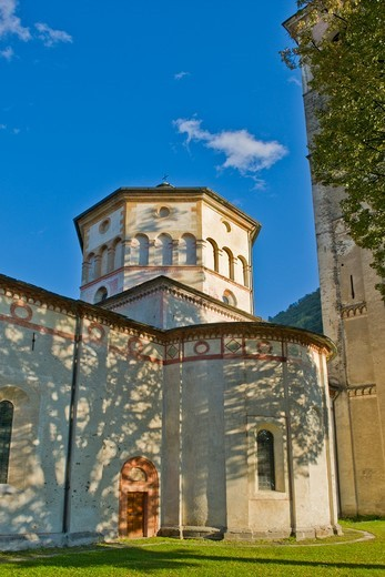 Stock Photo: 4292-159240 Italy, Lombardy, Valtellina, Morbegno, Assunta sanctuary