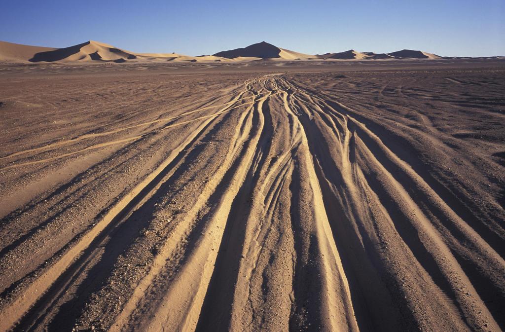 Stock Photo: 4292-16653 Algeria, Sahara. Erg Chech Desert