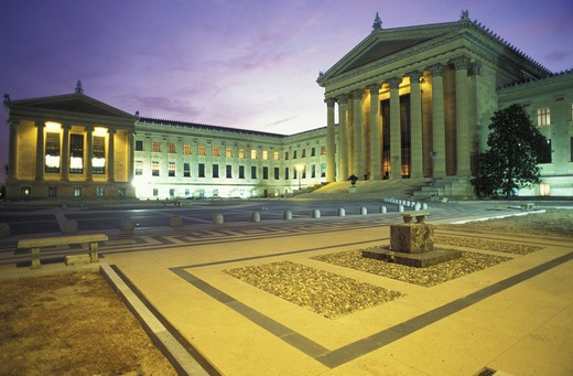 Stock Photo: 4292-17516 USA, Pennsylvania, Philadelphia, Museum of Art