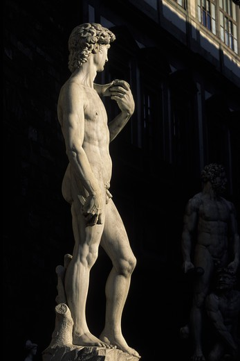 Stock Photo: 4292-17602 Italy, Florence, David Statue