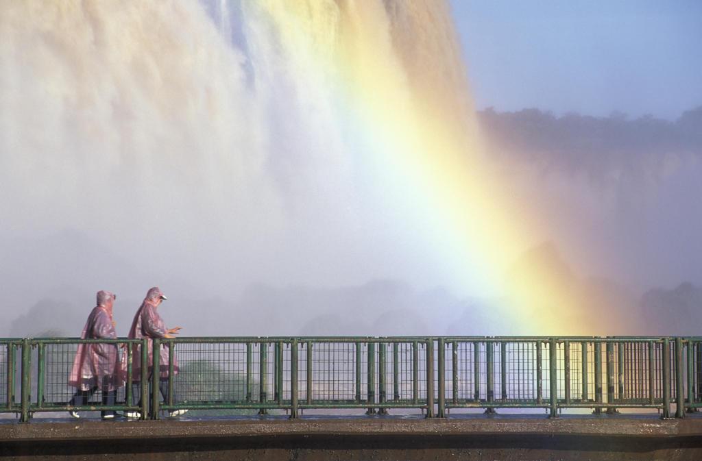 Stock Photo: 4292-18088 South America, Brazil, Parana, Iguaçu Falls