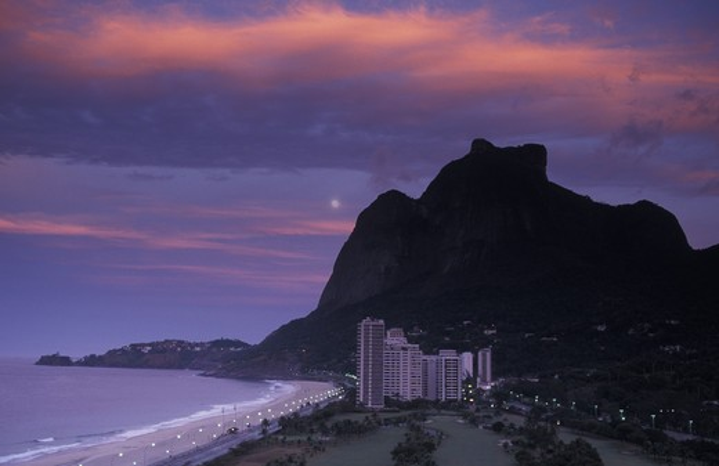 Stock Photo: 4292-18136 South America, Brazil, Rio de Janeiro, Pedra da Gavea