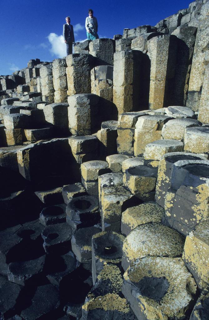 Europe, Northern Ireland, Antrim County, Giant's Causeway : Stock Photo