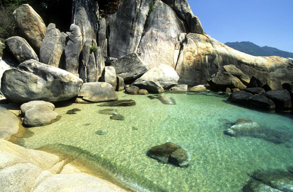 Thailand, Koh Samui Island, Great Grandfather Rock : Stock Photo