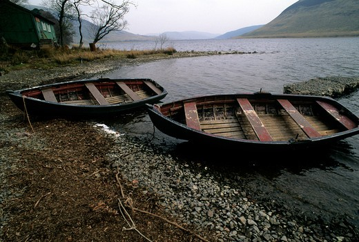 Stock Photo: 4292-19758 Scotland, Scottish Borders, Saint Mary Loch