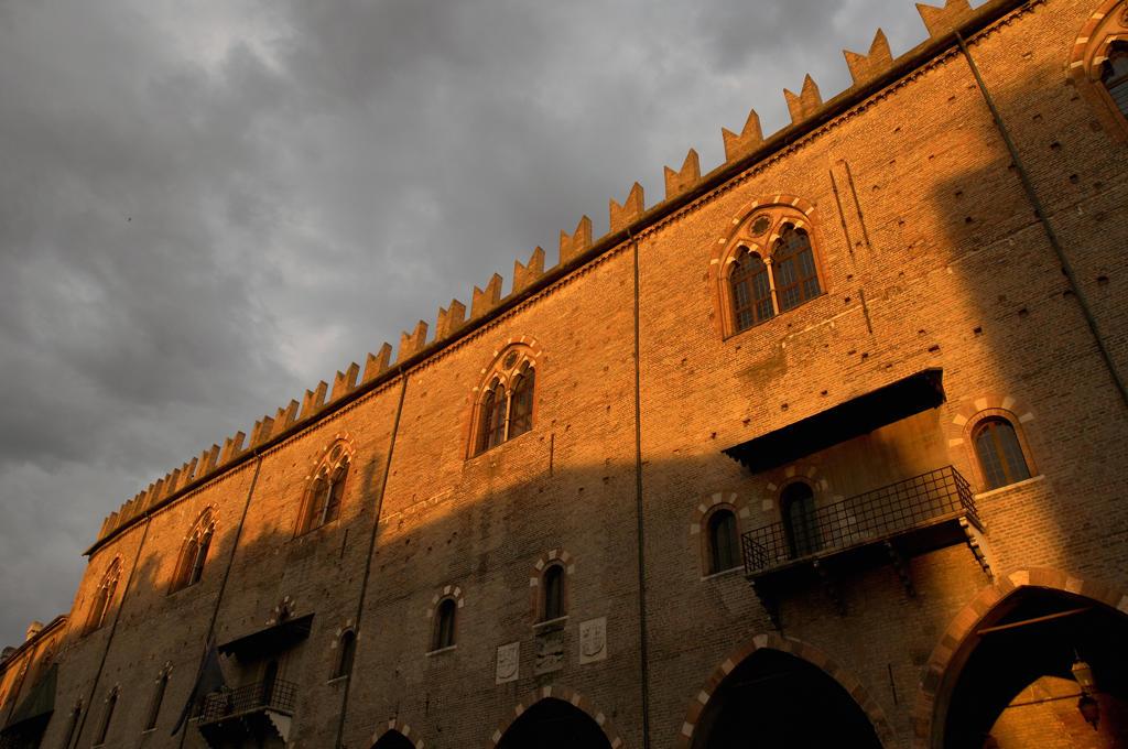 Italy, Lombardy, Mantova, Piazza delle Erbe : Stock Photo