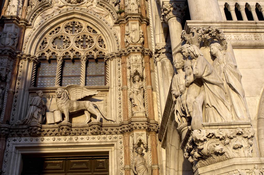 Italy, Veneto, Venice, the Palazzo Ducale : Stock Photo
