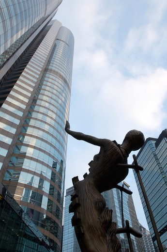 Stock Photo: 4292-20398 China, Hong Kong, Exchange Square