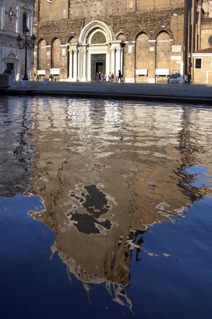 Stock Photo: 4292-20567 Italy, Veneto, Venice, Castello Quarter, San Giovanni e Paolo Basilica.