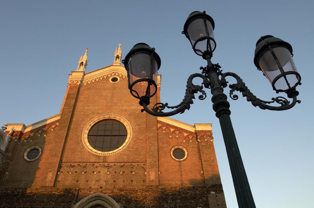 Stock Photo: 4292-20568 Italy, Veneto, Venice, Castello Quarter, San Giovanni e Paolo Basilica.