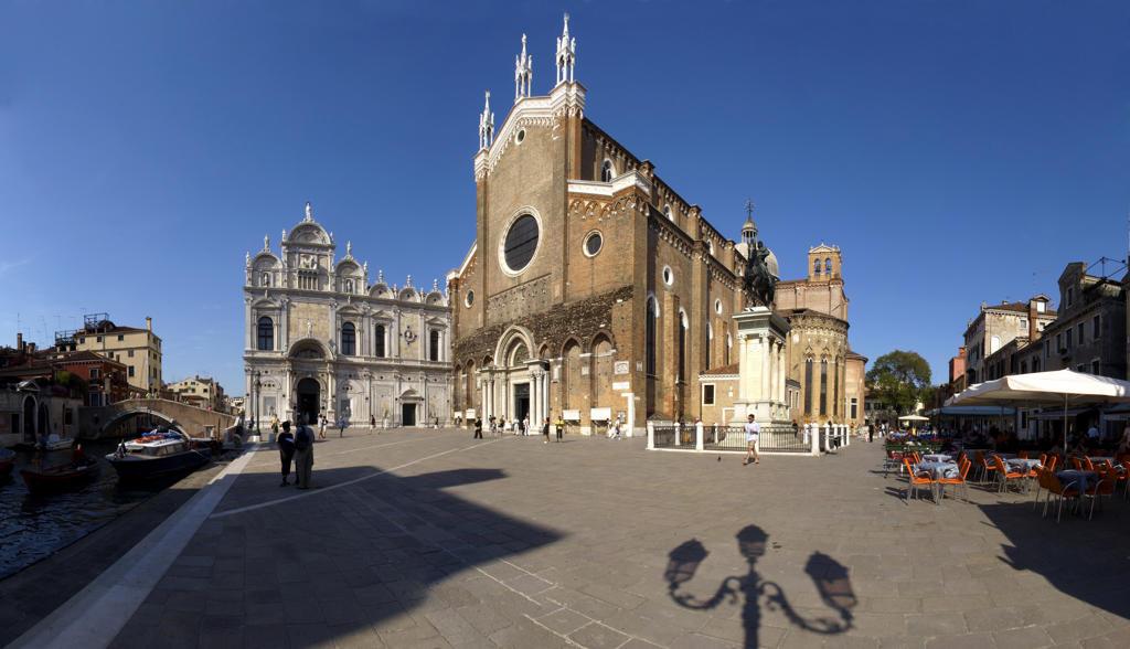 Italy, Veneto, Venice, Castello Quarter, San Giovanni e Paolo Basilica. : Stock Photo