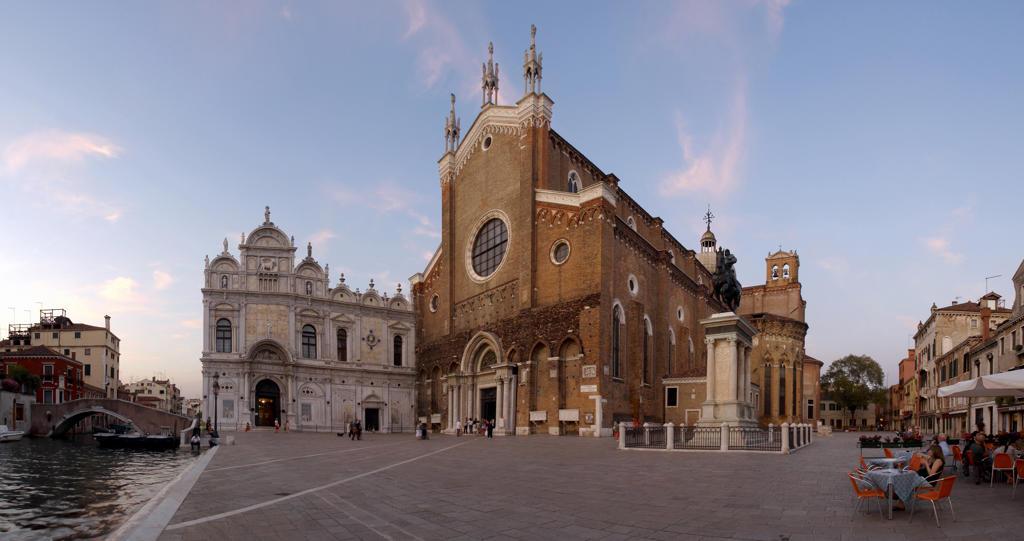 Stock Photo: 4292-20570 Italy, Veneto, Venice, Castello Quarter, San Giovanni e Paolo Basilica.