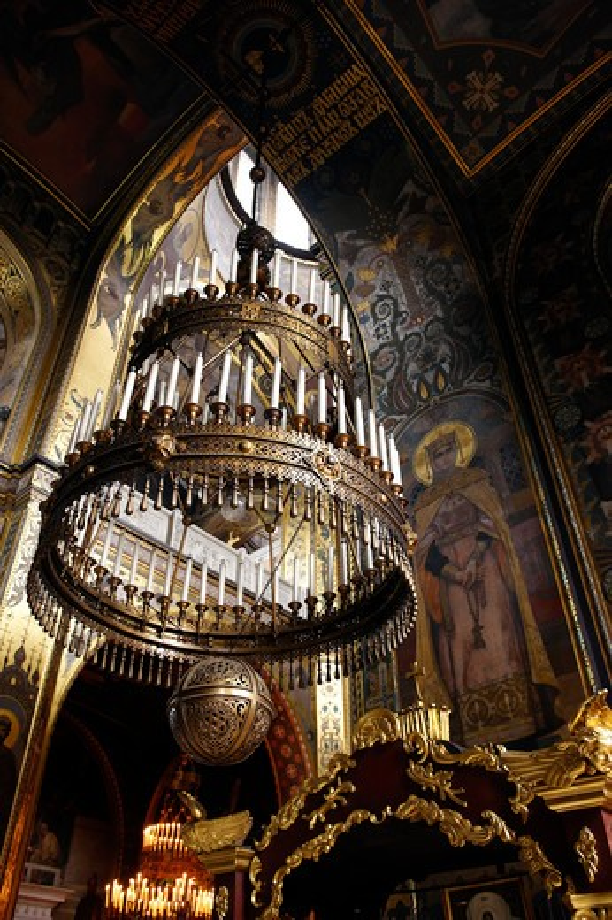 Stock Photo: 4292-20755 Ukraine, Kiev, Saint Vladimir cathedral