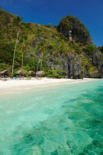 Stock Photo: 4292-20914 Philippines, Palawan, El Nido resort, Entalula island