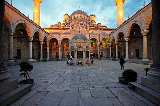 Stock Photo: 4292-21047 Turkey, Istambul, Mosque Yeni Cami