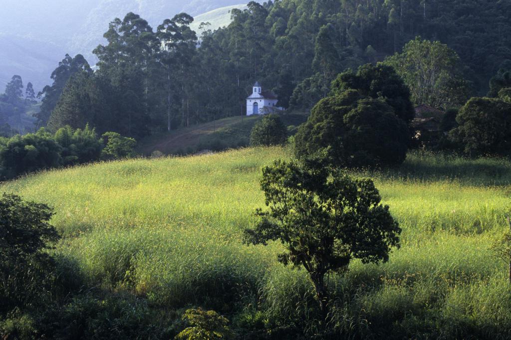 Brazil, Serra da Mantiqueira Mountains, Countryside : Stock Photo
